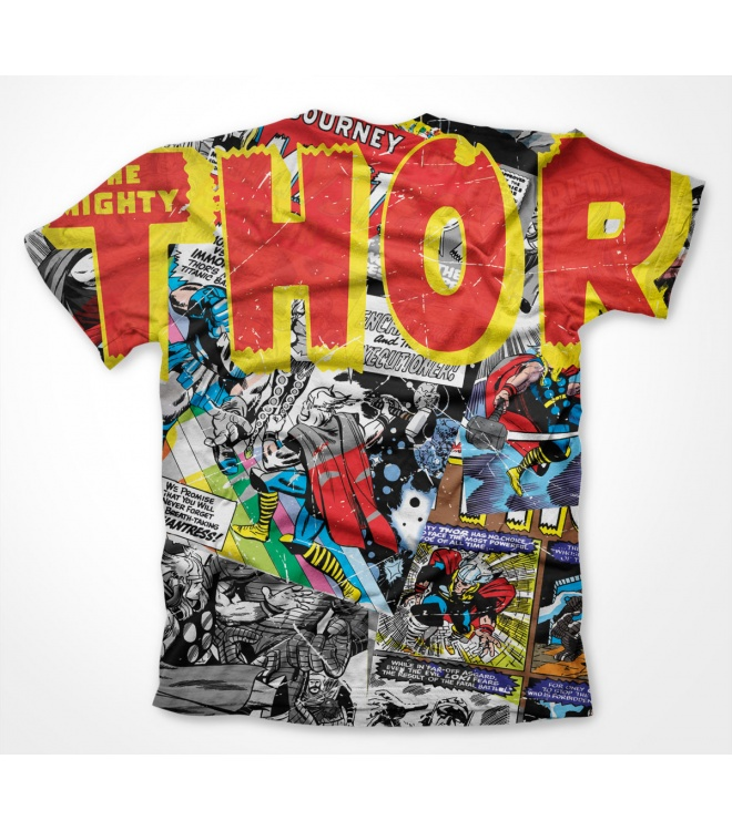 Marvel Classic T-Shirt: Thor (allover)
